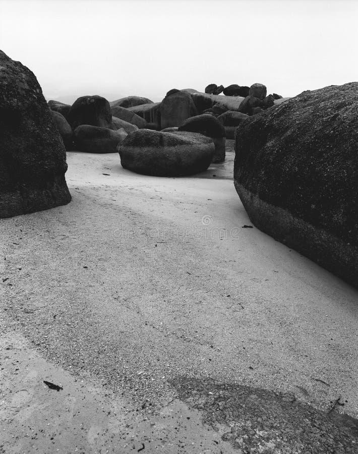 Praia dos pedregulhos fotografia de stock royalty free