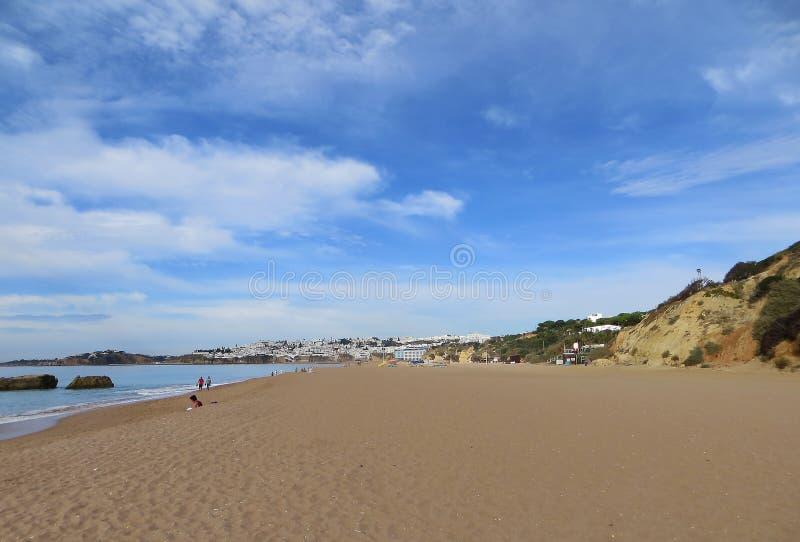 Praia dos Pescadores, Albufeira, Portugalia fotografia royalty free