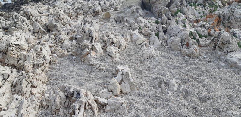 Praia dos seixos, fundo das pedras fotos de stock