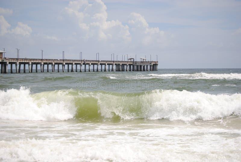 Praia e ondas fotos de stock royalty free