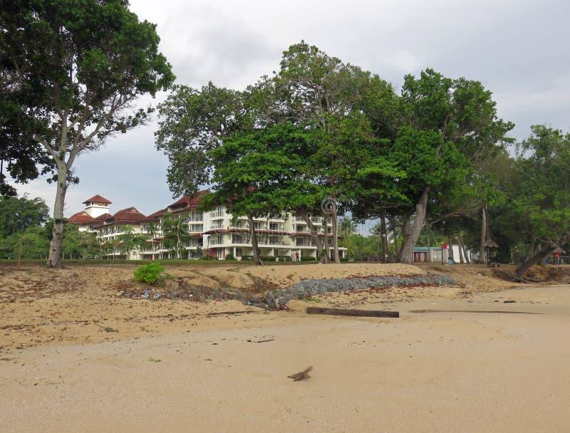 Praia e recurso de Desaru imagem de stock royalty free