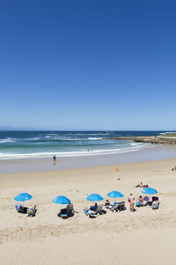 Praia em África do Sul fotos de stock royalty free