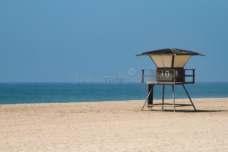 Praia em América fotografia de stock