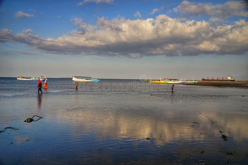 Praia em Banyuwangi fotos de stock