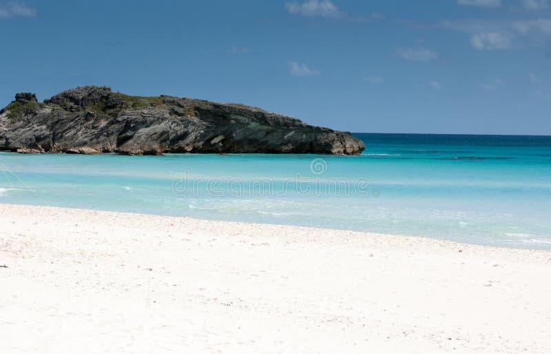 Praia em Bermuda fotos de stock royalty free