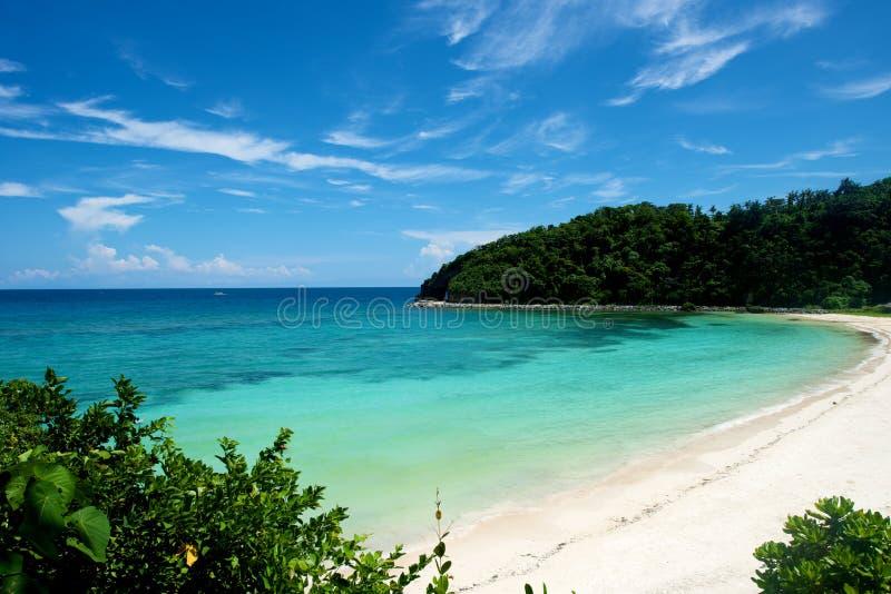 Praia em Boracay fotografia de stock