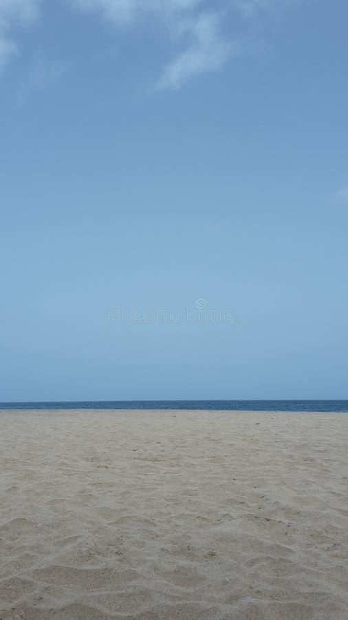 Praia em Cabo Verde imagem de stock royalty free
