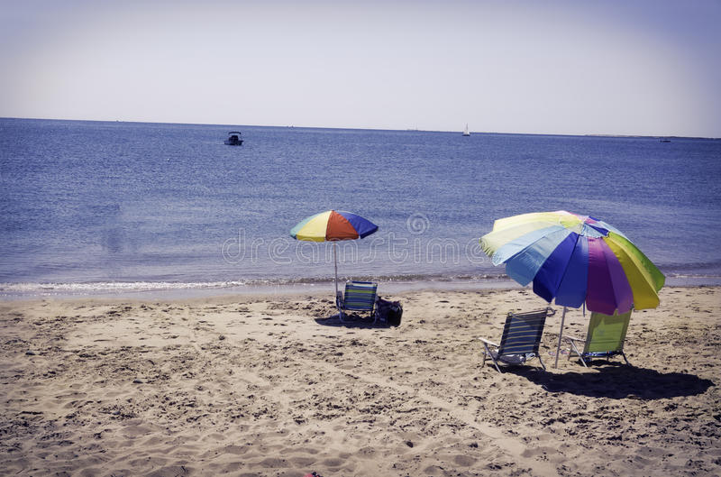 Praia em Eastham, miliampère Cape Cod foto de stock