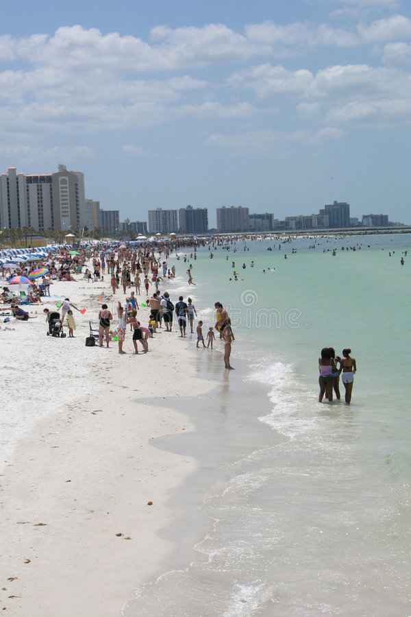 Praia em Florida imagens de stock royalty free