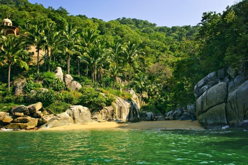 Praia em México imagens de stock royalty free