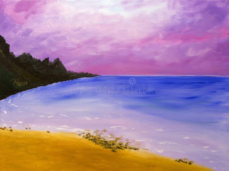 Praia em Maui fotos de stock