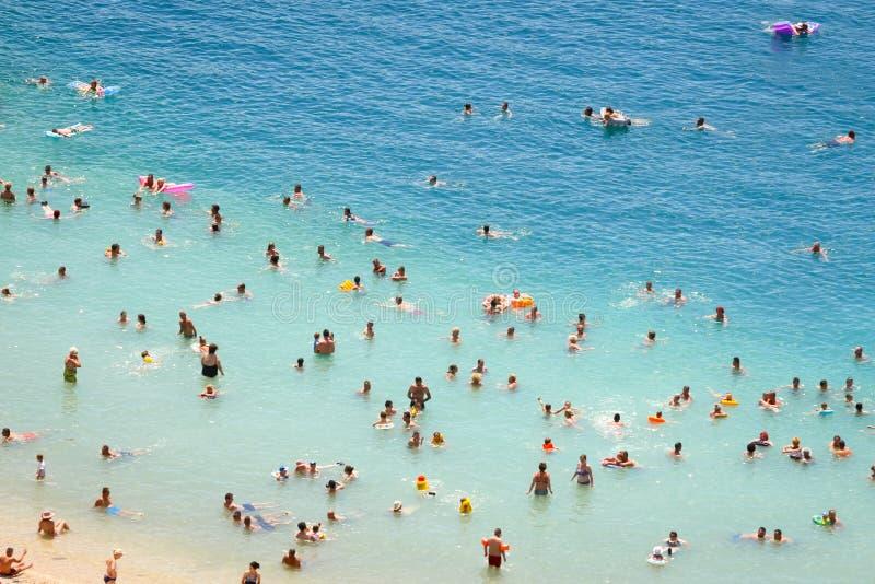Praia em Neum imagens de stock royalty free