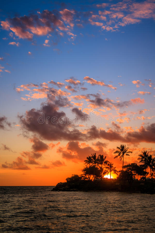 Praia em Noumea, Nova Caledônia fotografia de stock royalty free