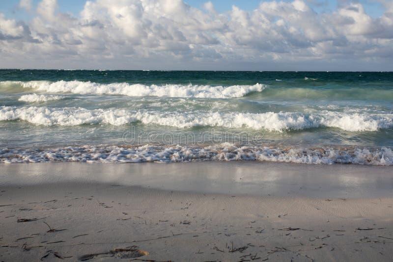 Praia em Punta Cana fotos de stock