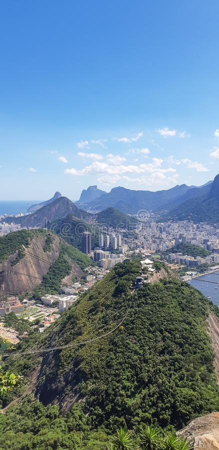 Praia em Rio de janeiro, Brasil foto de stock royalty free