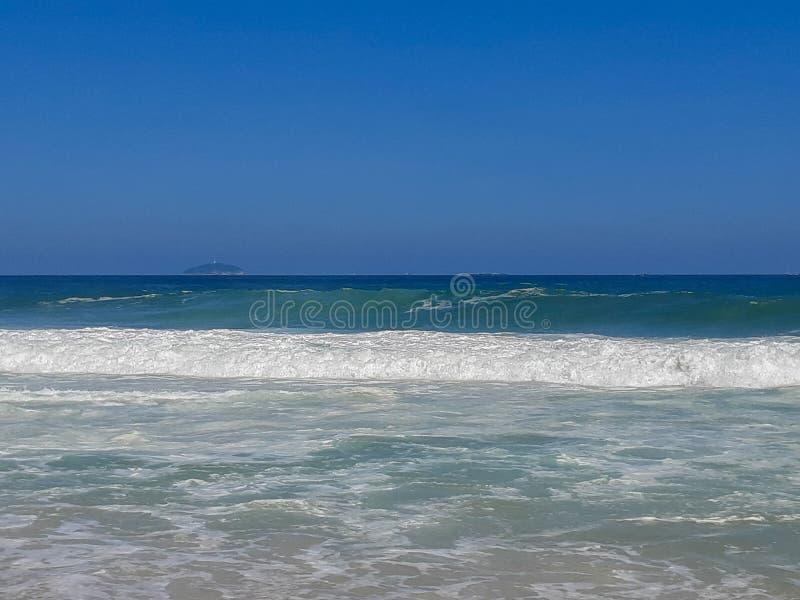 Praia em Rio de janeiro, Brasil imagem de stock royalty free