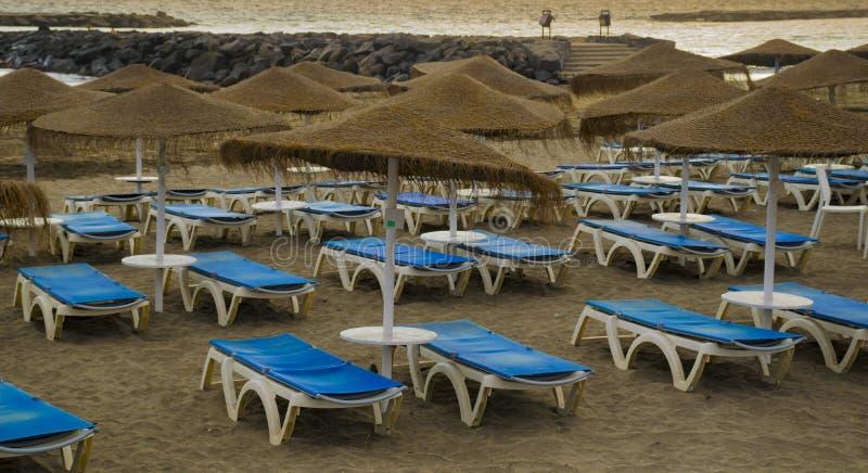 Praia em Tenerife foto de stock royalty free