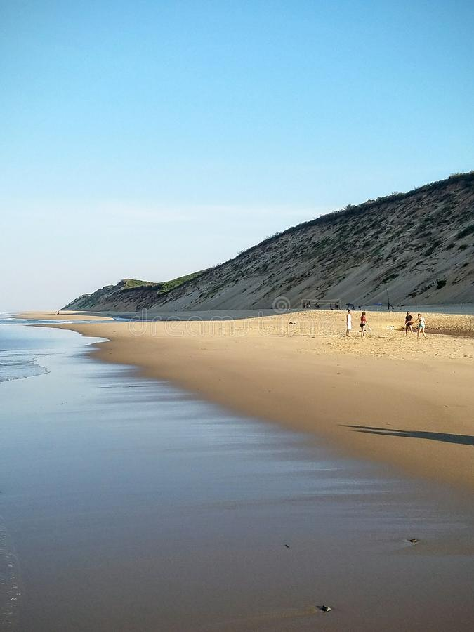 Praia exterior de Cape Cod foto de stock royalty free