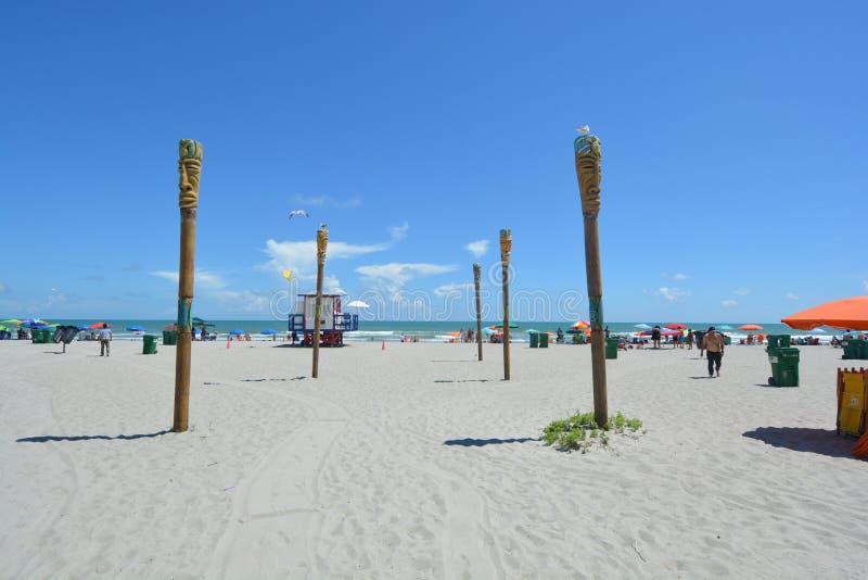 Praia Florida do cacau fotografia de stock