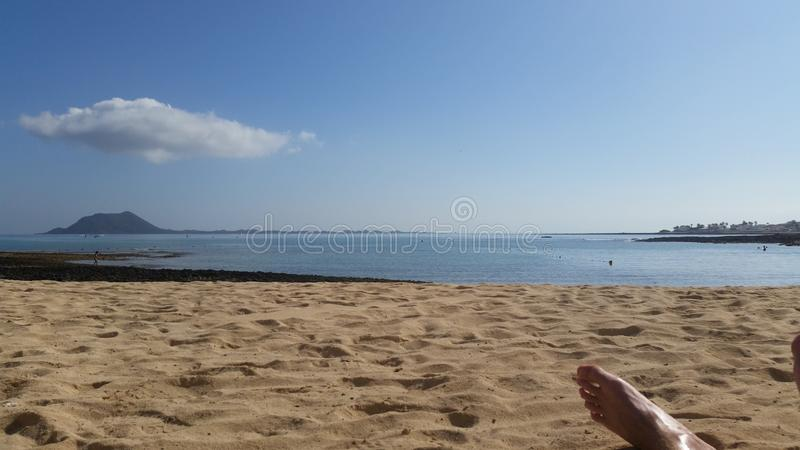 Praia Fuerteventura imagem de stock royalty free