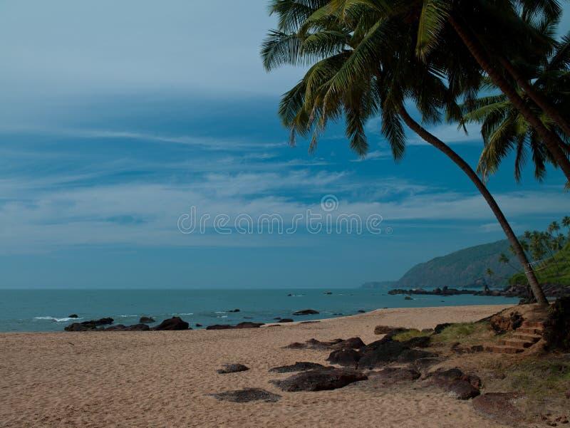 Praia Goa da cola foto de stock royalty free