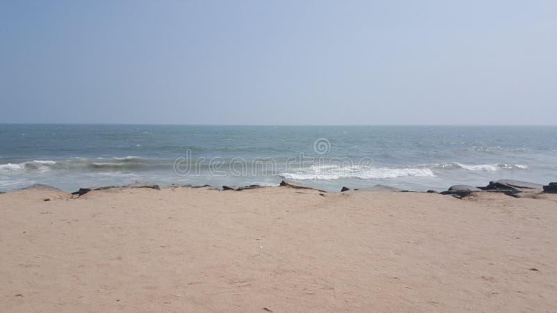 Praia indiana imagem de stock