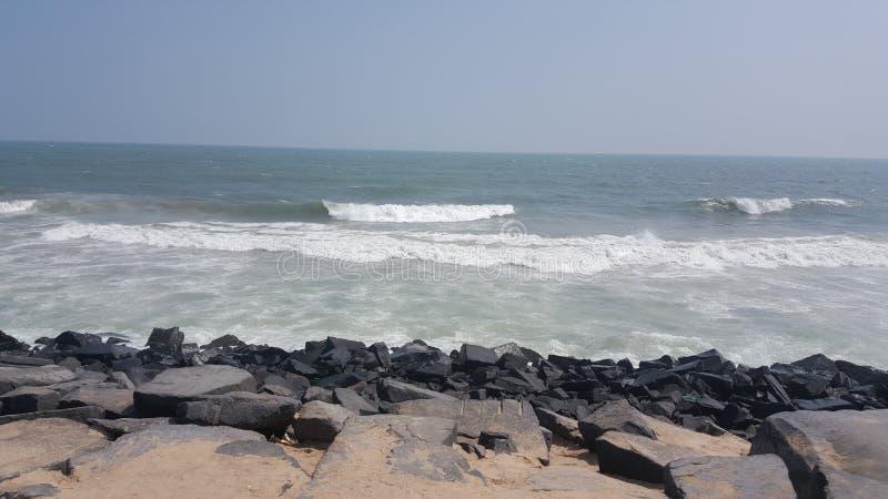 Praia indiana foto de stock royalty free