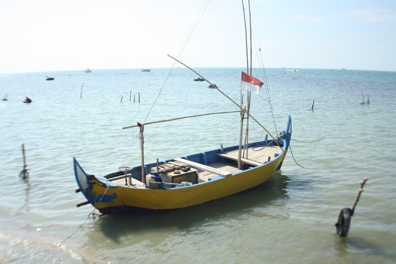 Praia indonésia fotografia de stock royalty free
