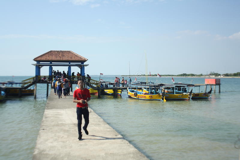 Praia indonésia fotos de stock royalty free