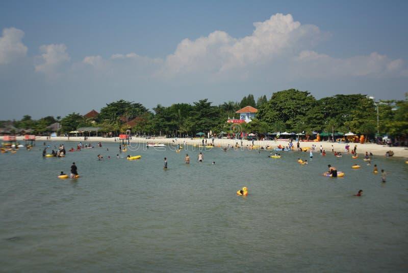 Praia indonésia fotos de stock