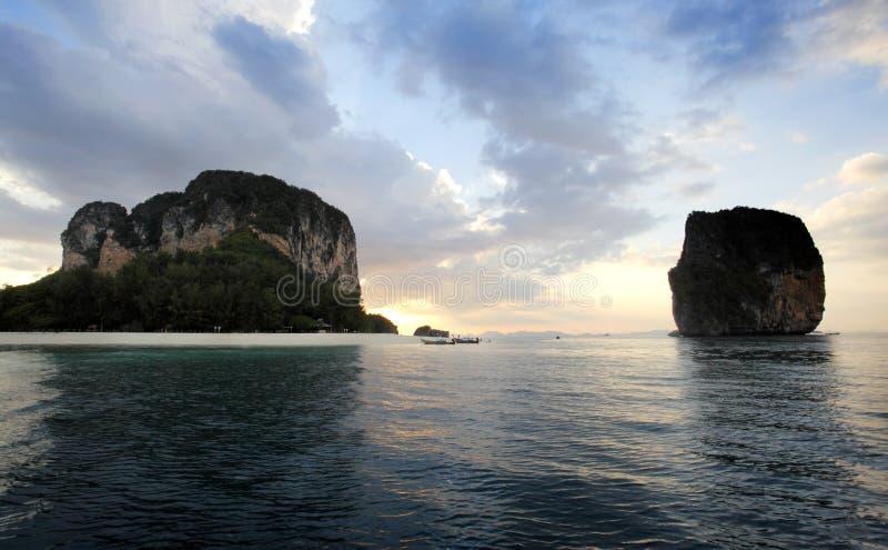 Praia Krabi de Poda do Koh imagens de stock
