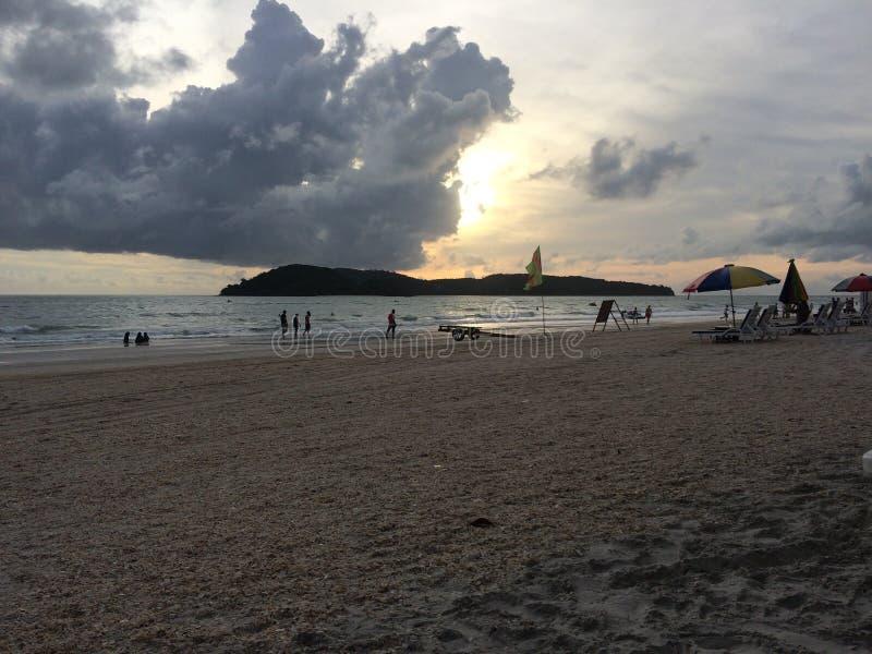 Praia Langkawi Malásia de Chenang imagens de stock