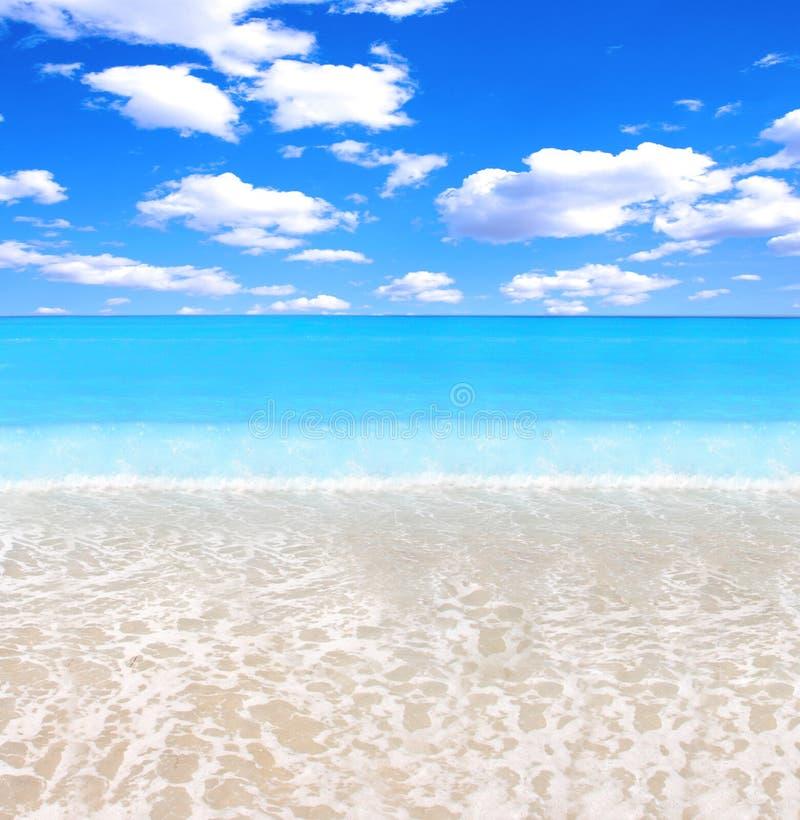 Praia lindo imagem de stock royalty free
