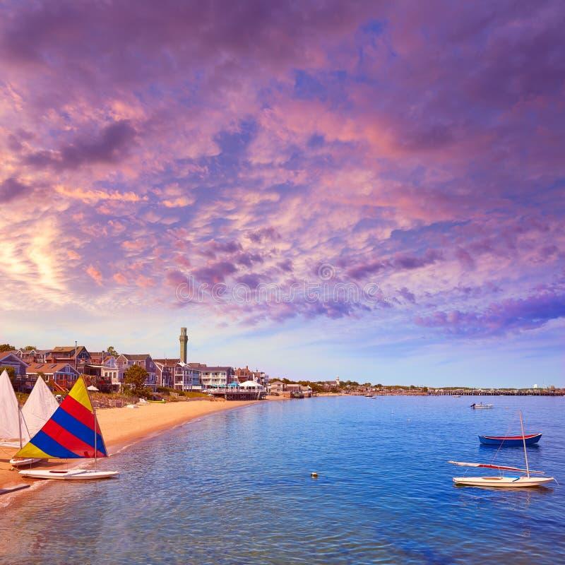 Praia Massachusetts de Cape Cod Provincetown fotos de stock royalty free