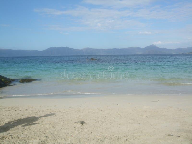 Praia norueguesa fotografia de stock