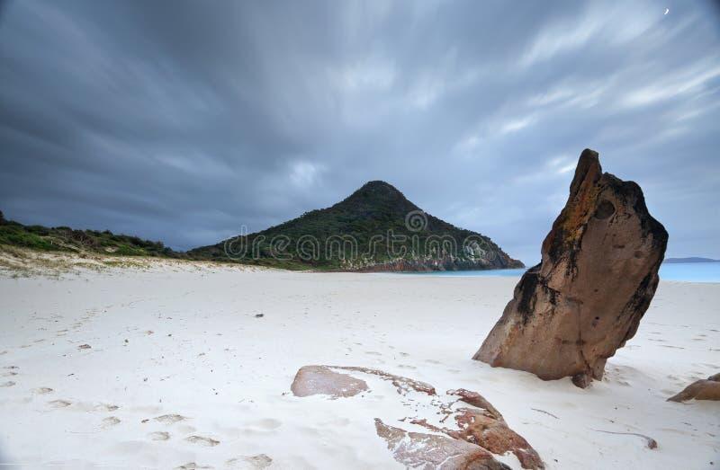 Praia NSW Austrália do zênite imagem de stock