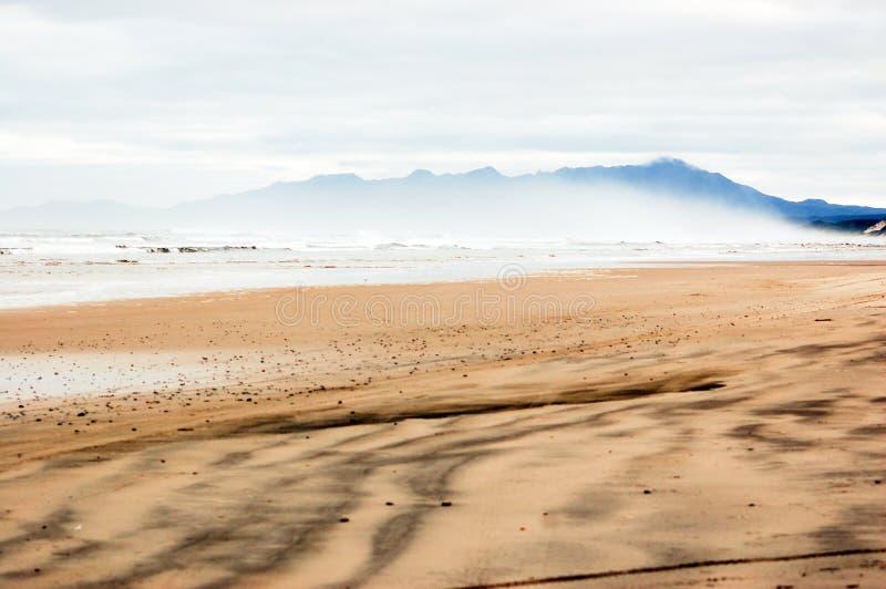 Praia ocidental de Tasmânia imagens de stock