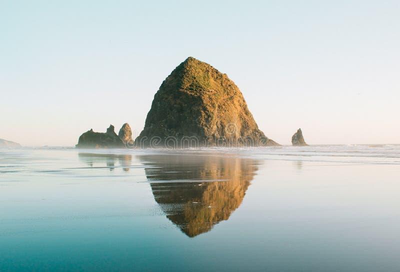 Praia Oregon do canhão imagem de stock