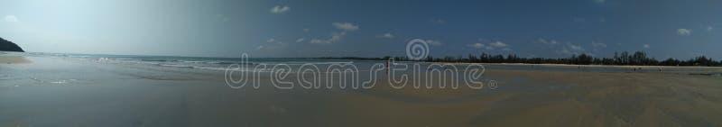 Praia Pahang Malásia de Cherating imagem de stock