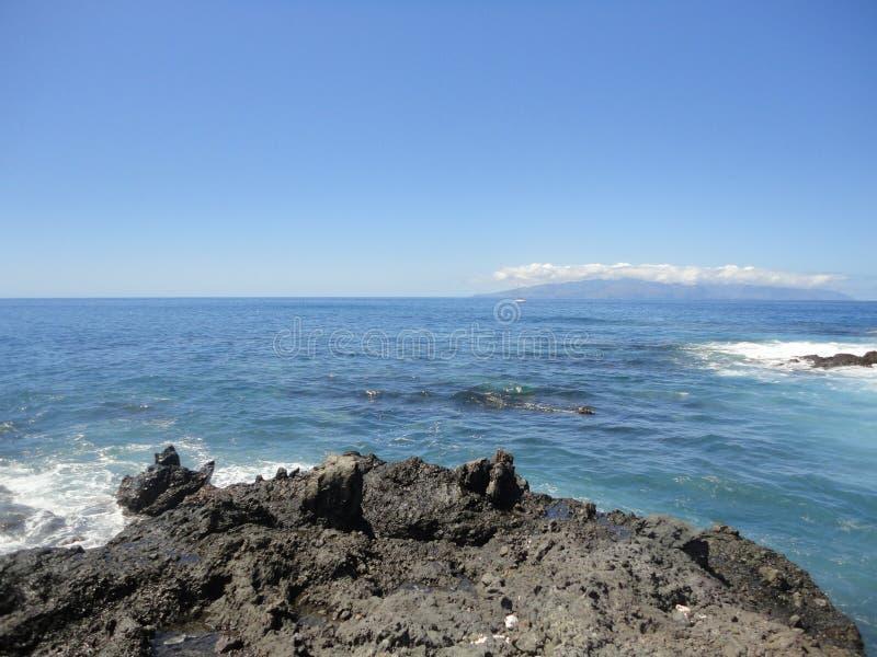 Praia panorâmico Ténérifa fotos de stock