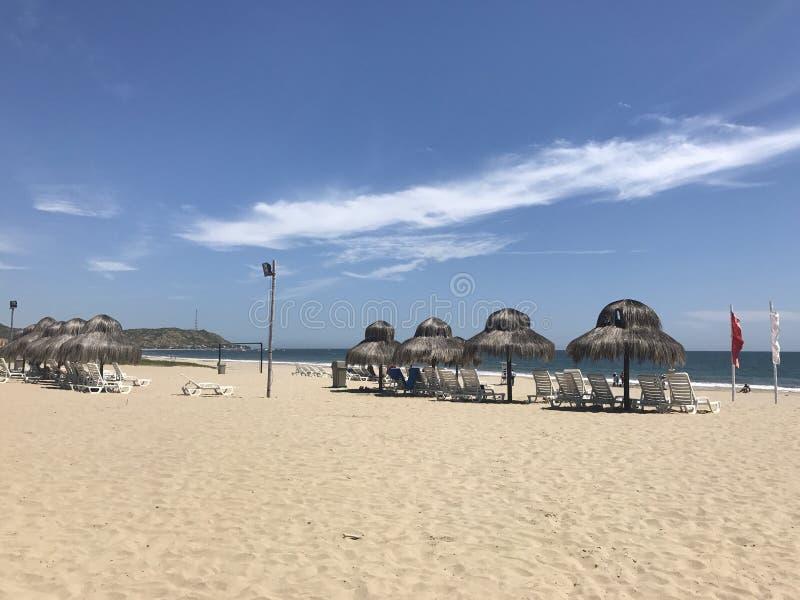Praia Perú do sal de Punta imagens de stock royalty free