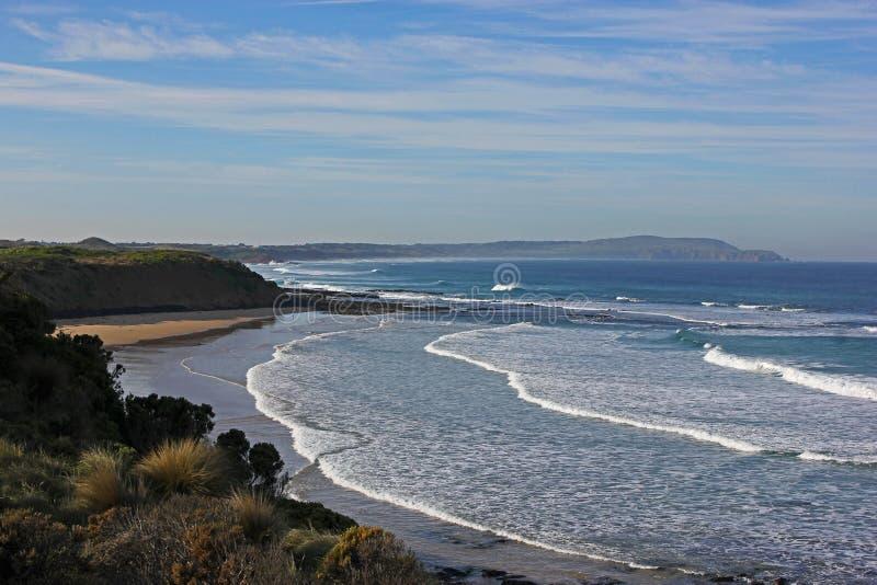 Praia Phillip Island da ressaca imagem de stock royalty free