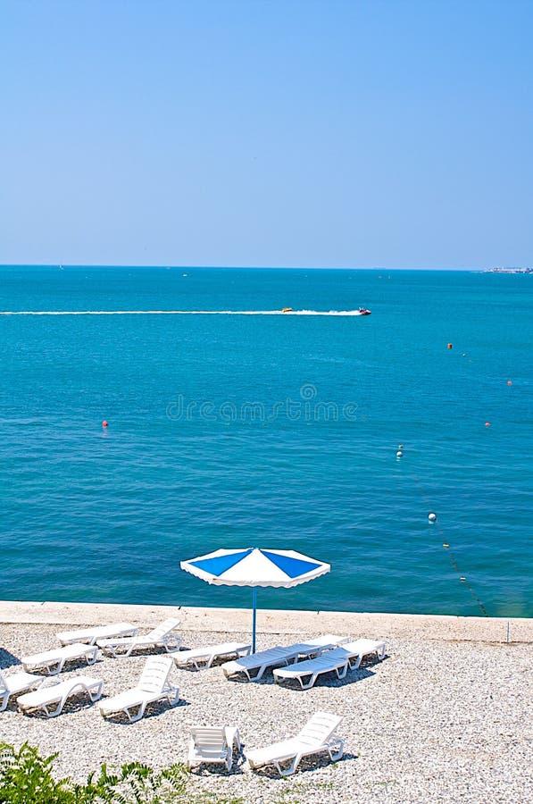 Praia Pineda de março fotos de stock