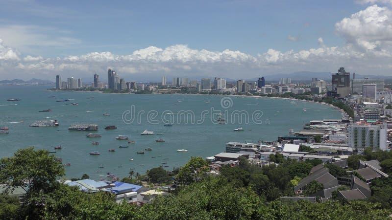 Praia Rd Pattaya Talay Pattaya Tailândia foto de stock