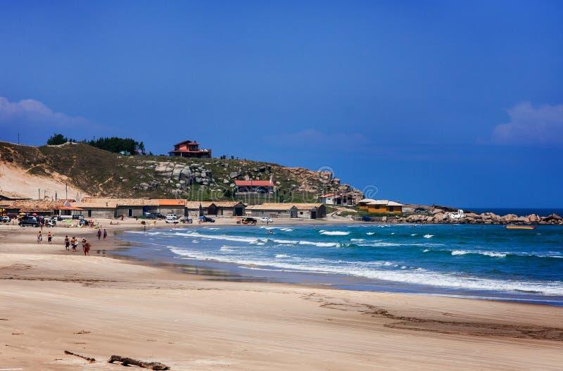 Praia Santa Catarina Brazil de Cardoso fotografia de stock