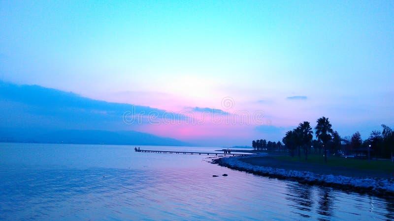 A praia silenciosa fotos de stock