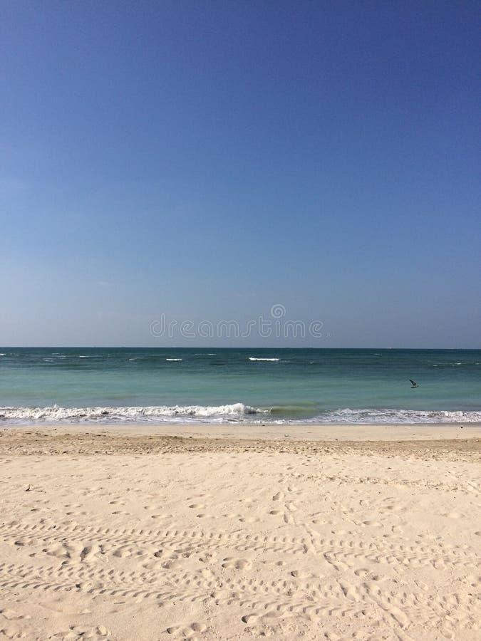 praia silenciosa fotografia de stock royalty free