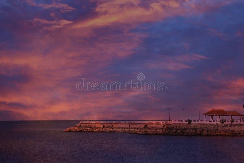 Praia Sri Lanka de Kankasanthurai fotos de stock royalty free