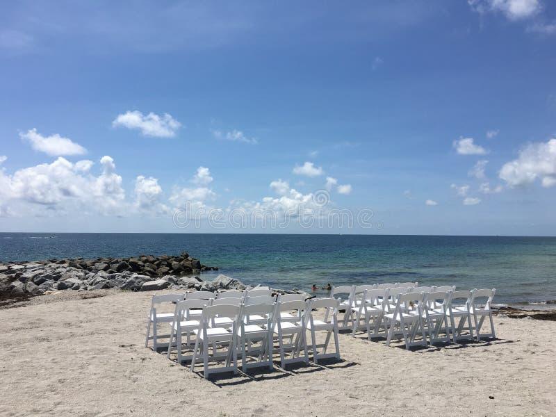Praia sul de Florida fotos de stock