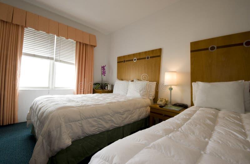 Praia sul miami florida do quarto de hotel imagem de stock royalty free